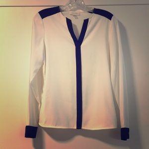 Trendy wear to work blouse